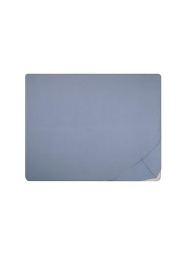 Hibboux 160x200x38 Milou Jersey Lastikli Çarşaf - Gray Gri
